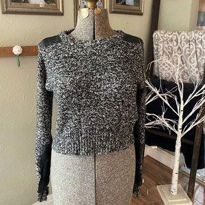 Mono B crop sweater